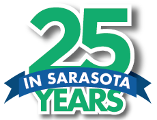 twenty five years in Sarasota